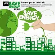 Link toGreen ecology city concept design vector 04 free