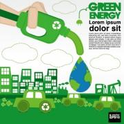Link toGreen ecology city concept design vector 05 free