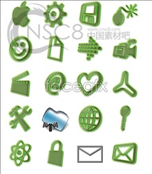 Link toGreen fairy light system icons