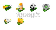 Link toGreen football desktop icons