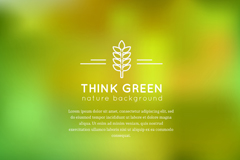 Link toGreen fuzzy background vector map