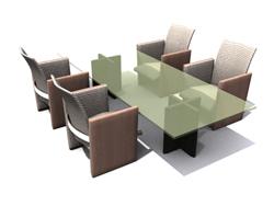 Link toGreen glass chair 3d models
