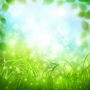 Link toGreen grass with halation background vector free