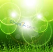 Link toGreen halo background vector designs