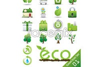 Link toGreen icon vector 2