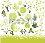 Green idea tree vector
