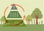 Link toGreen illustration vector