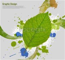 Link toGreen ink korea design elements psd