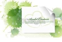 Link toGreen ink paper background vector