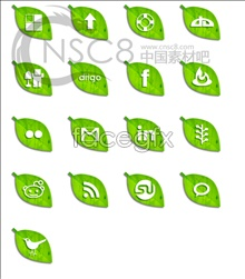 Link toGreen leaf desktop icons
