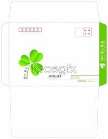 Link toGreen leaf love foundation, 7th envelope illustration psd