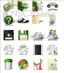 Link toGreen low carbon design icons