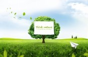 Link toGreen outdoor landscape psd design