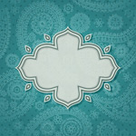Link toGreen pattern tag vector