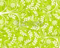 Link topattern green the background vector pattern Green