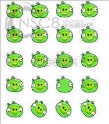Link toGreen pig emoticons