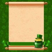 Link toGreen saint patrick day background vector 02 free