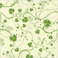 Link toGreen seamless floral vector background