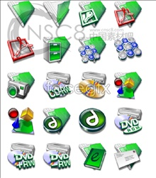 Link toGreen sketchpad system replacement icons