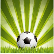 Link toGreen style soccer background vector 01 free