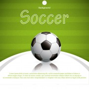 Link toGreen style soccer background vector 02 free
