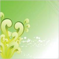 Link toGreen swirly vector background, swirl vector tutorial