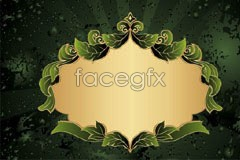 Link tovector pattern lace trend Green