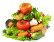 Link toGreen vegetables picture material