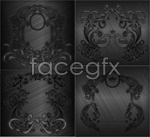 Link toGrey brushed pattern vector
