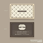 Link toGrey business card vector