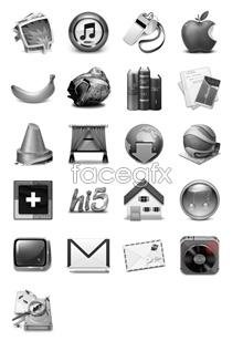 Link toGrey computer desktop icons