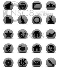 Link toGrey rounded desktop icons