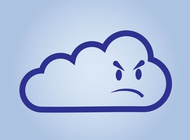 Link toGrumpy cloud vector free