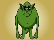 Link toGrumpy monster vector free