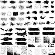 Link toGrunge background elements creative vector 01 free
