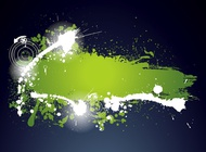 Link toGrunge label template vector free