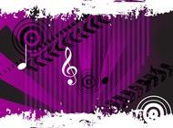 Link toGrunge music vector free