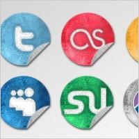 Link toGrunge social network icons