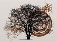 Link toGrunge tree layout vector free