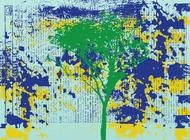 Link toGrunge tree vector free