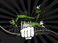 Link toGrunge urban background vector free