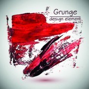 Link toGrunge watercolor elements vector background 05
