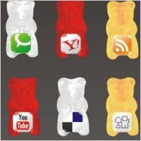 Link toGummy social icon set