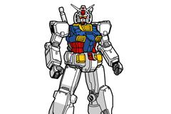 Link toGundam robot cartoon vector