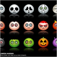 Link toHalloween avatars icons icons pack