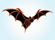 Link toHalloween bat vector free