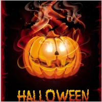 Link toHalloween cartoon background 04 vector