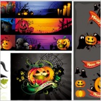 Link toHalloween cartoon images vector