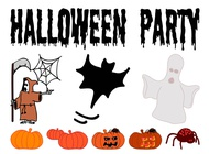 Link toHalloween designs set vector free
