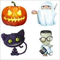 Link toHalloween icon set icons pack